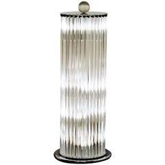 Floor Lamp, 32 Elements, Deco Style, Murano Made