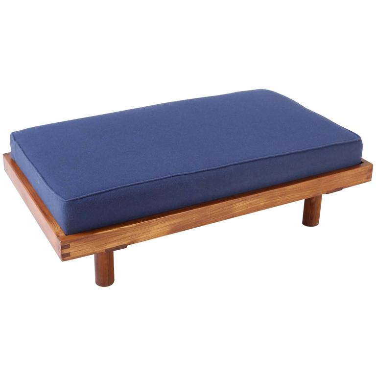Pierre Chapo Small Daybed in French Elmwood, 1960