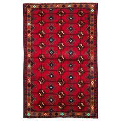 Vintage Persian Turkoman Rug