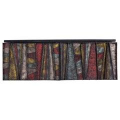 Paul Evans Sculptural Wall Hung Cabinet, PE-42, 1967