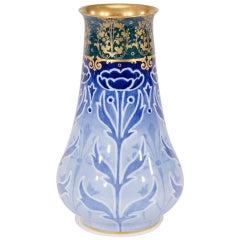 Doulton Burslem Art Nouveau Vase with Poppies