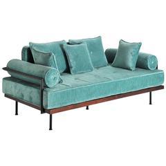 Bespoke Handmade Love Seat, Reclaimed Hardwood 'IN STOCK', by P. Tendercool