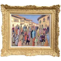 """""""Village de Prizren"""" by Jacques Martin-ferrières"""