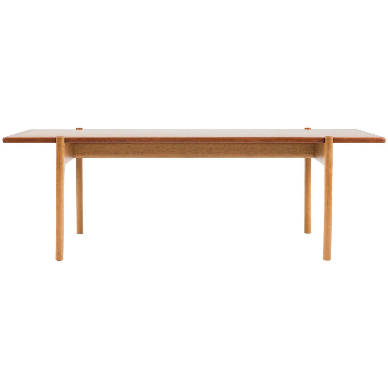 Coffee Table by Hans J Wegner for Johannes Hansen For Sale at 1stdibs