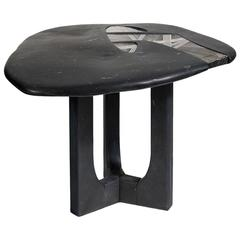 "Contemporary ""Cassiopée"" Pedestal Table by Emmanuel Jonckers"