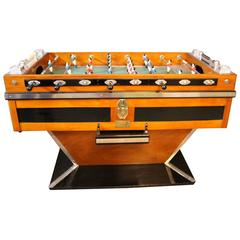 Mid-Century French Café's Foosball Table
