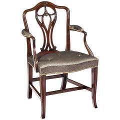 George III Carved Armchair