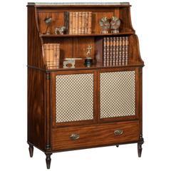 Regency Period Open Bookcase
