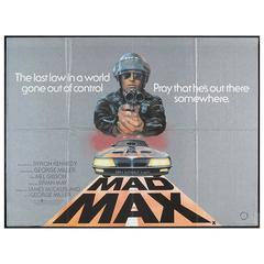 """Mad Max"" Film Poster, 1979"