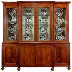 Regency Period Breakfront Bookcase