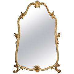 Large Venetian Style Decorated Mirror