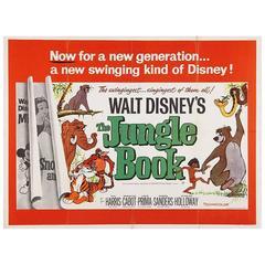 """The Jungle Book"" Film Poster, 1967"