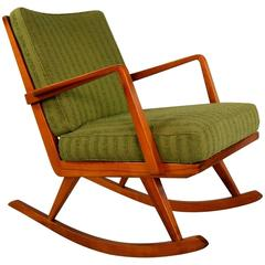 Easy Rocking Chair No. PK 22' by Walter Knoll for Antimott