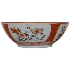 Early 19th Century Oriental Bowl with Flowers