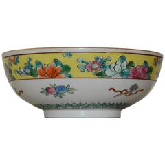 Early 20th Century Nippon Porcelain Oriental Bowl