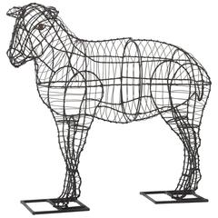 Wire Figure of a Sheep, circa 1920