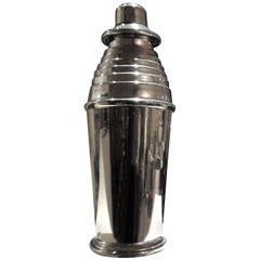 "Art Deco ""Stepped Up"" Cocktail Shaker"
