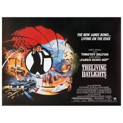 """""""The Living Daylights"""" Film Poster, 1987"""