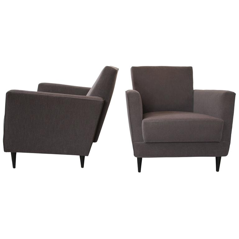 Set of Two Sofas and Three Armchairs, André Renou & Jean-Pierre Génisset, 1956