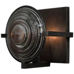 Lens Sconce by Christopher Kreiling
