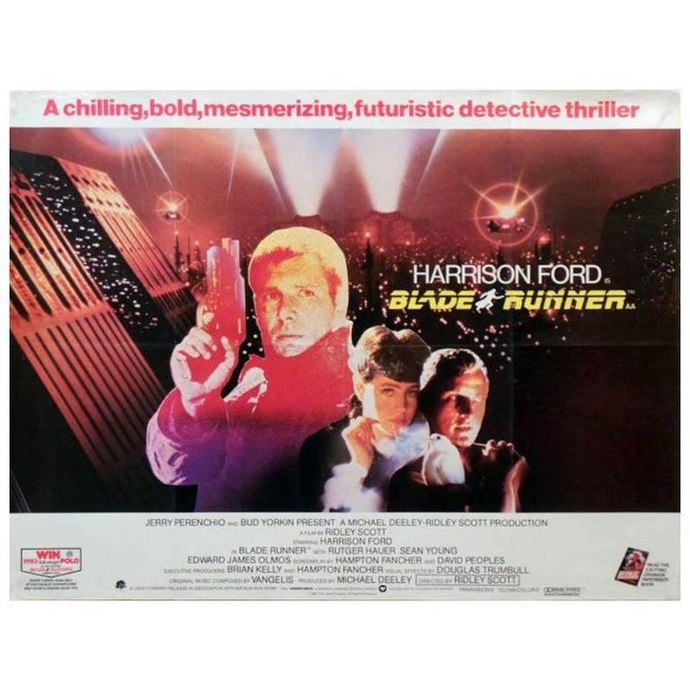 """""""Blade Runner"""", Poster, 1982 For Sale"""