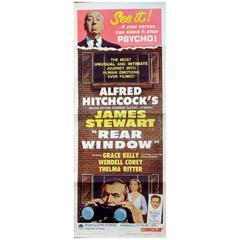"""""""Rear Window"""" Film Poster, 1962"""