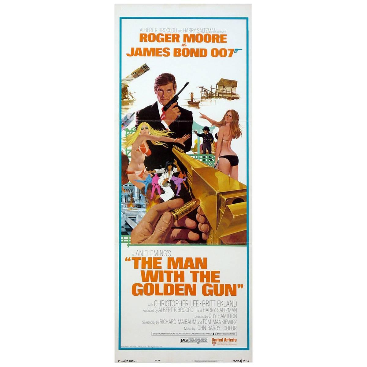 """""""The Man with the Golden Gun"""", Poster, 1974"""