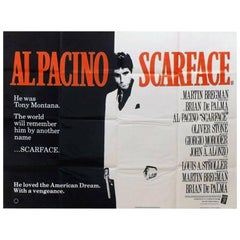 """""""Scarface"""", Poster, 1983"""