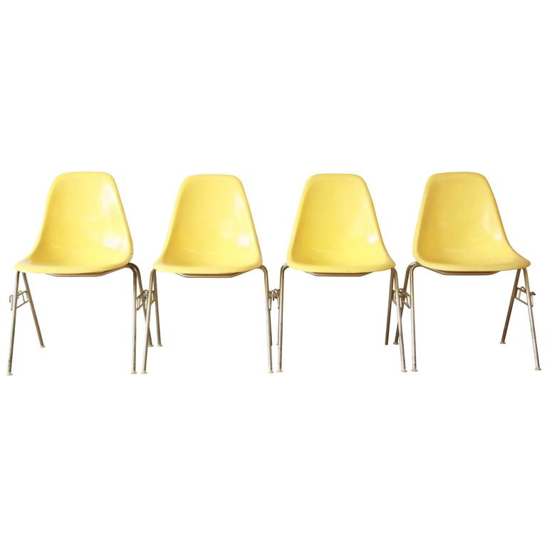 charles and ray eames for herman miller dss stacking chairs for sale