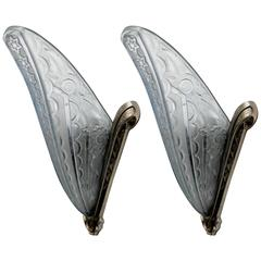 Pair of French Art Deco Wall Sconces by Donna