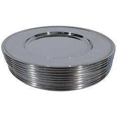 Metal Dinner Plates