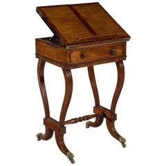 Early 19th Century Regency Period Mahogany Metamorphic Reading Table