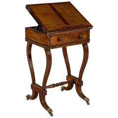 Early 19th Century Regency Period Mahogany Metamorphic Reading Table