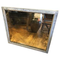 Large Industrial Mirror Galvanized Steel Window