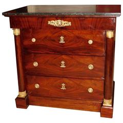 Napoleon III Empire Style Four Drawer Commode/Chest