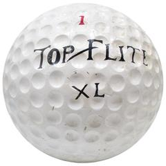 Large Golf Ball Store Trade Sign