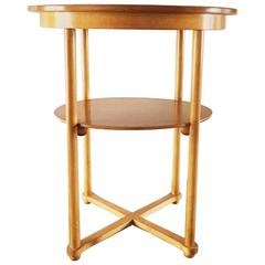 Thonet Side Table by Josef Hoffmann