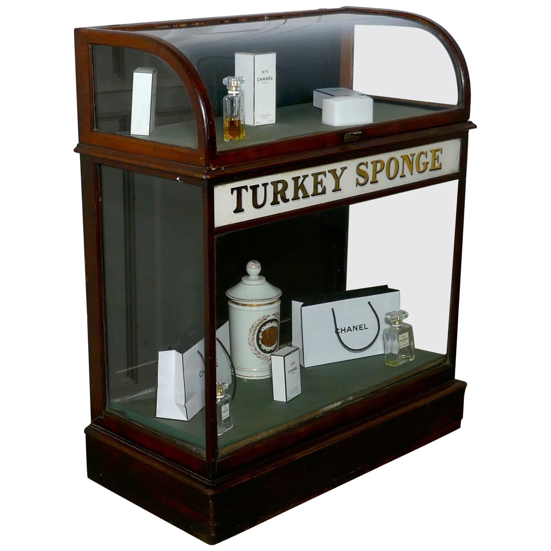Turkey Sponge Chemist Shop Display Cabinet