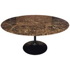 Eero Saarinen Table in Emperador Marble for Knoll International