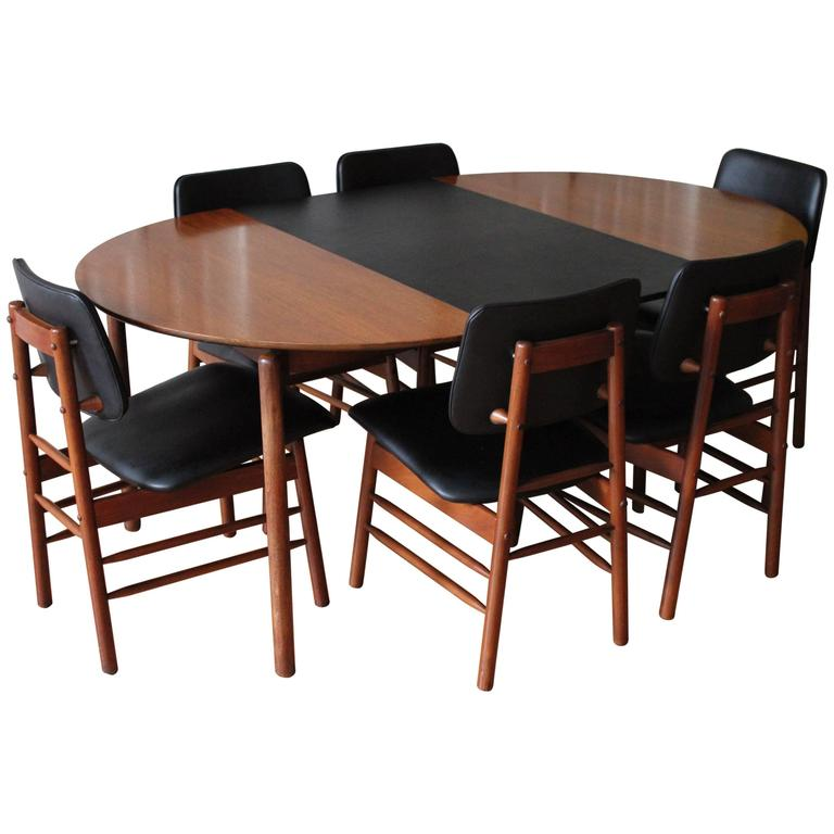 Greta m grossman dining set at 1stdibs for M s dining room tables