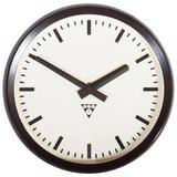 Bakelite Industrial Factory Wall Clock by Pragatron