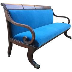 Classical Sofa in Mahogany, Massachusetts, circa 1820