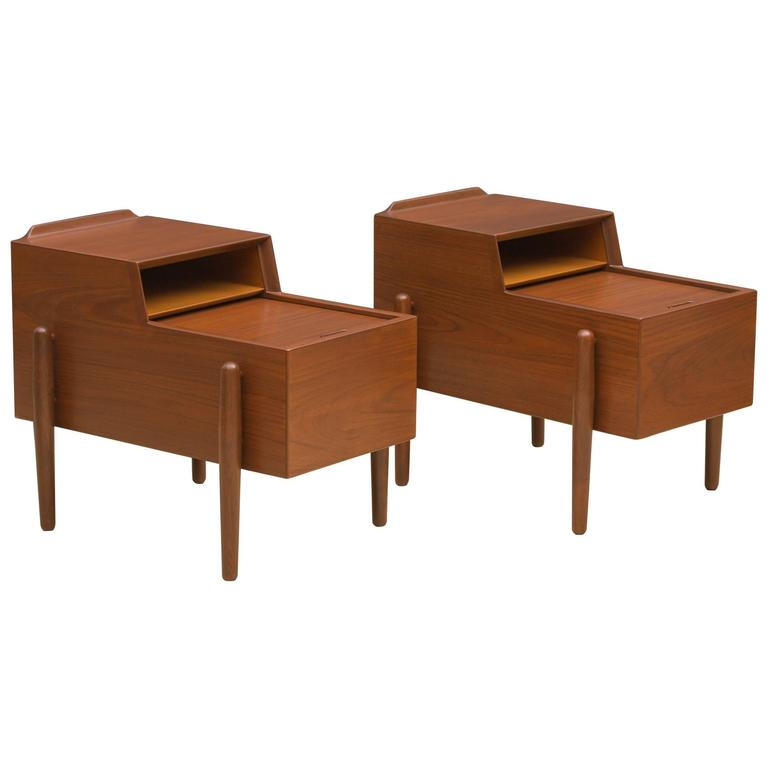 Arne Vodder Two-Tier End Tables 1