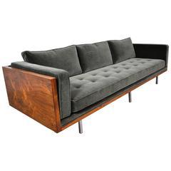 Milo Baughman Case Sofa in Rosewood