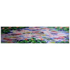 "Salomé, ""Grosser Schwimmer"", Acrylic on Canvas, Neo-Expressionism, Berlin, 1984"