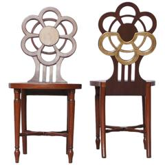 George III Hall Chairs 'Pair,' circa 1820