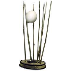 Rhea Egg Lamp by Glyn Lockett
