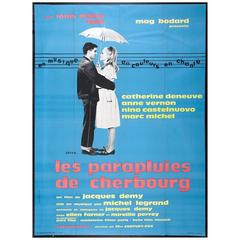 """The Umbrellas Of Cherbourg"" Film Poster, 1964"