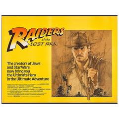 """Raiders of the Lost Ark"", Film Poster, 1981"