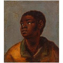Interesting Boy Portrait: C. Albert Eckhout, Brazil, 17th Century